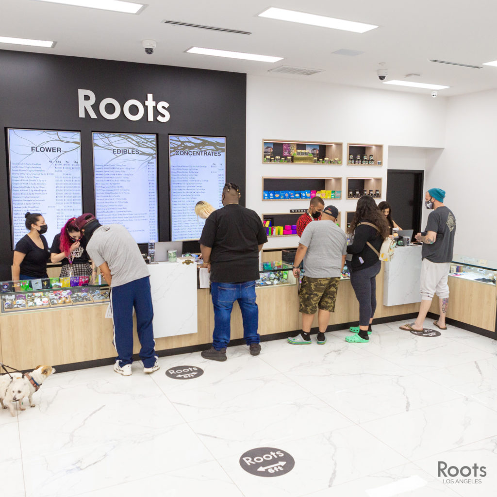 roots la either one or two